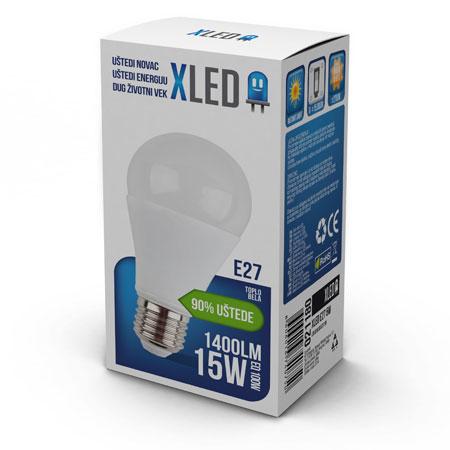 XLED E27 15W
