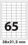 nalepnice a4 38×21.2