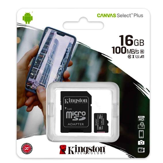 micro-sd-16gb-kingston-kl10 canvas select
