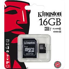 micro sd 16gb kingston kl10