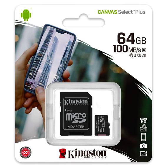 micro-sd-64gb-kingston-kl10 canvas select