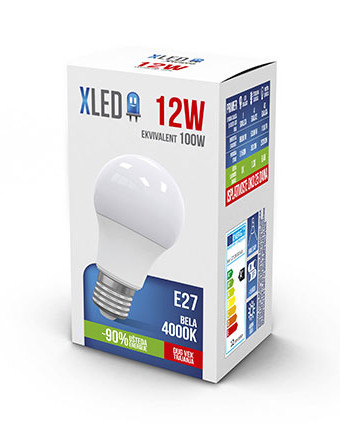 XLED E27 12W NB