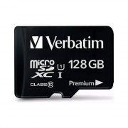 micro sd 128gb verbatim klasa 10 (b)